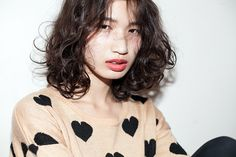 Nicole./YAMAGUCHI ERIKA 髪型 ヘアスタイル hair ミディアム