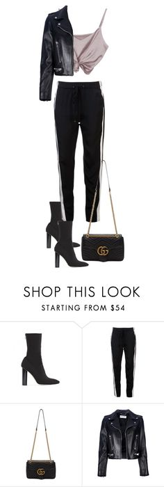"""""""Untitled #4608"""" by theeuropeancloset ❤ liked on Polyvore featuring Public Desire, 3.1 Phillip Lim, Gucci and Yves Saint Laurent"""