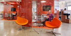 Corporate Office Design, Open Office Design, Cool Office Space, Corporate Interiors, Workplace Design, Office Interior Design, Office Interiors, Home Interior, Interior Architecture