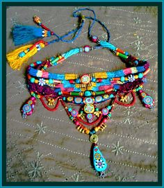 bohemian necklace <3