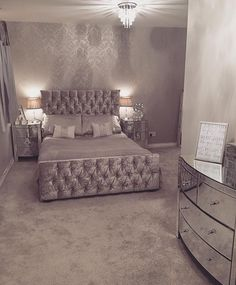 decor 2020 decor bedroom quotes vanity decor decor websites decor for young ladies decor decor grey and white day bedroom decor Bedroom Interior, Bedroom Makeover, Bedroom Design, Luxurious Bedrooms, Master Bedrooms Decor, Bedroom Decor, Home Decor, Room Ideas Bedroom, Apartment Decor