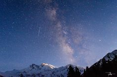 Milky Way over Nanga Parbat 8126M - MilkyWay over Nanga Parbat viewed from Fairy Meadows