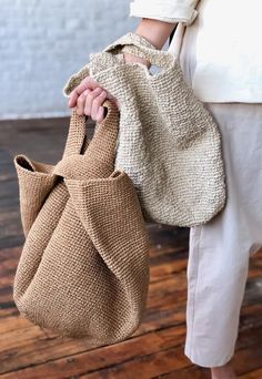 Lauren Manoogian Paint Bowl Bag in Eggshell – VESTIGE Knit bags have always. Lauren Manoogian Paint Bowl Bag in Eggshell – VESTIGE Knit bags have always been one of the mo Crochet Bowl, Bag Crochet, Knit Bag, Crochet Handbags, Diaper Bag Backpack, Tote Bag, Diaper Bags, Clutch Bag, Fashion Handbags
