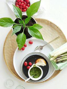 Auf der Mammilade n-Seite des Lebens: Pflanzenliebe im Glas   Wie ich noch mehr Durchblick bekam & frisches Spargel-Pesto mit Bärlauch und Chili