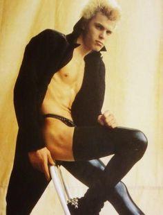 Billy idol gay