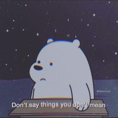 We Are Bears, Ice Bear We Bare Bears, We Bear, Cute Cartoon Wallpapers, Cute Wallpaper Backgrounds, Disney Wallpaper, Cartoon Profile Pictures, Bear Pictures, Cartoon Quotes