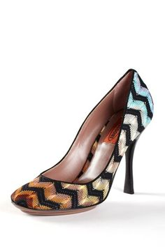 Missoni Round Toe Pump by Step Into Style on @HauteLook