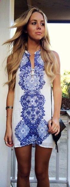bree kleintop // ONeill Journey Beach Dress