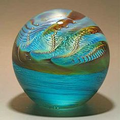 Pearl Paperweight by Robert Burch