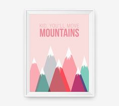 Kid, You'll Move Mountains by loopzart