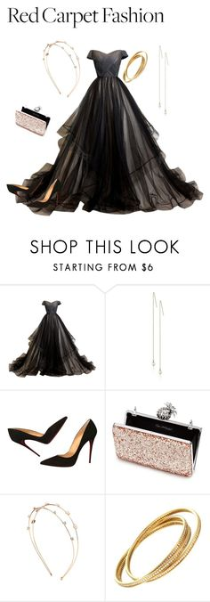 """""""Untitled #17"""" by chelsea-atencio ❤ liked on Polyvore featuring CC SKYE, Christian Louboutin, Miss Selfridge, Charlotte Russe and Cartier"""
