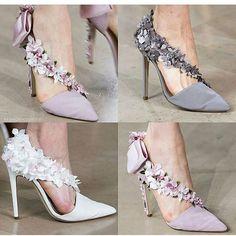 Fall Winter runway Fashion Show for Paris Fashion Week 2016 Wedding Shoes Bride, Bride Shoes, Prom Shoes, Dress Shoes, Shoes Heels, Fancy Shoes, Pretty Shoes, Beautiful Shoes, Me Too Shoes