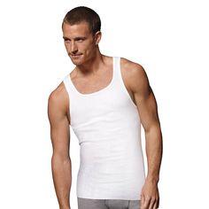 Hanes Men's Tagless ComfortSoft Tank 4X-5X Undershirt