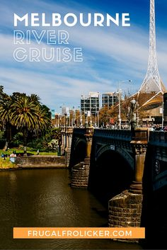 Melbourne River Cruise.  #travel #australia #melbourne / / / / / Check out more travel photos and blog posts on my travel blog, frugalfrolicker.com