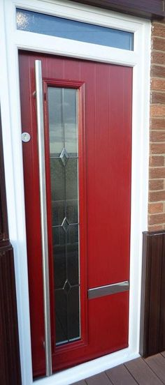 New Modern Style Composite Door  www.imagewindows.com  01207 280066 Installers of Quality Double Glazing Products