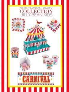 New Carnival Tent Collection Jilly Bean Kids