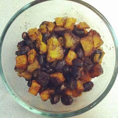 Sweet Potato, Black Bean + Plantain Hash