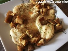 Secondi piatti: Scaloppine di pollo ai funghi porcini | 4 passi nella mia vita | Bloglovin'