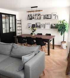 Scandinavian Industrial Dining Room - Decoration For Home Decor, Living Room, Room, Apartment Dining, Home, Living Dining Room, Industrial Dining, Dining Room Industrial, Interior Design