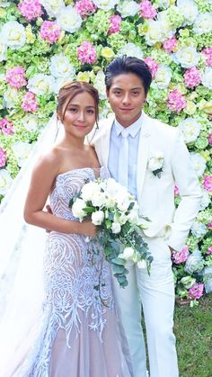 can't wait for this time🥺❤️ Kathryn Bernardo Hairstyle, Kathryn Bernardo Outfits, Modern Filipiniana Dress, Daniel Johns, Daniel Padilla, Mid Length Hair, Bridesmaid Dresses, Wedding Dresses, Bridal Looks