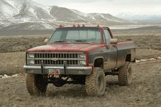 This 1982 Chevy Truck is ready for some adventure! Chevy 4x4, Chevy Pickup Trucks, Gm Trucks, Chevy Pickups, Jeep Truck, Cool Trucks, General Motors, Volkswagen, Toyota