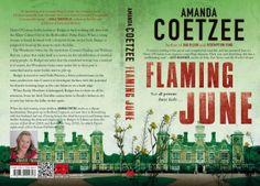 Flaming June by Amanda Coetzee, South African crime writer