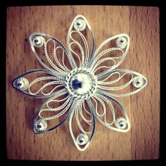 My filigree brooch