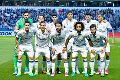 Equipos de fútbol: REAL MADRID contra Deportivo de la Coruña 26/04/2017