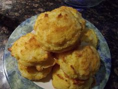Get Fit Katie's Low Carb Blog: Recipe: LCHF Buttery Garlic and Sharp Cheddar Biscuits