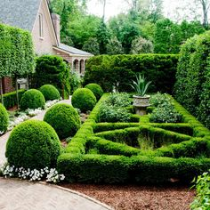private garden in Lexington, Kentucky, by P Allen Smith & Associates