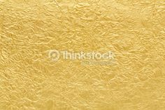 Stock Photo : Gold foil background texture
