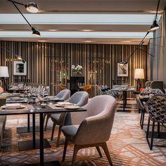 Einrichtung des Restaurants The Casual im Hotel Das Stue   creme berlin
