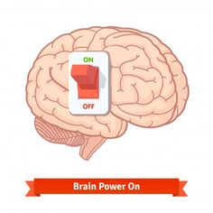 Brain power switch on Brainstorm, Motivation Sportive, Brain Illustration, Drawing Competition, Brain Art, Human Icon, Right Brain, Dark Photography, Stop Motion