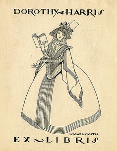 [Bookplate of Dorothy Harris] by Pratt Libraries, via Flickr