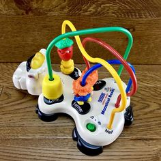 Vtech Little Smart Moosical Beads Interactive Musical Cow Vintage toddlers Vgc Educational Toys, Birthday Candles, Toddlers, Cow, Musicals, Beads, Vintage, Children, Beading