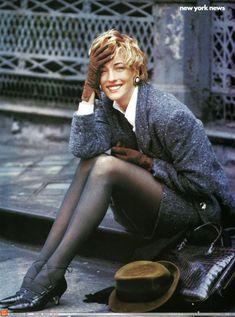 Vogue US - New York news - Tatiana Patitz - Aug 1989