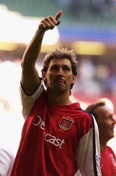 Tony Adams for the legends' Arsenal FC