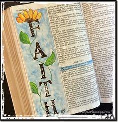 Bible Art Journaling Heb 11-1