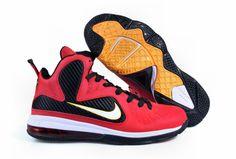 factory price 9e163 c5e8e Nike Cheap Lebron shoes 2012 Lebron 9 Sample Red Black Yellow 469764 001  Nike Runners,