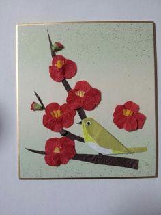イメージ0 - 2月の作品梅とメジロの画像 - 季節の折り紙 - Yahoo!ブログ