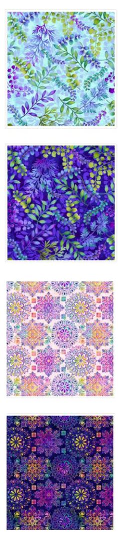 New for Spring...Henry Glass Gossamer Garden Fabric at beehappyquilting.com Bee Happy, Quilting, Spring, Garden, Glass, Fabric, Decor, Tejido, Garten