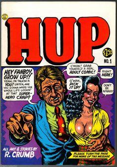 HUP 1 2 Last Gasp 1987 Robert Crumb 2 Underground Comix | eBay