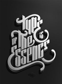 New Typography Designs Type is of the essence by Marko Purac