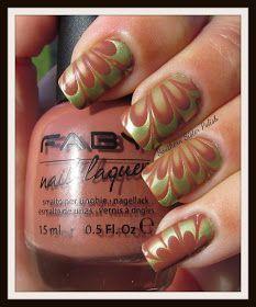 Southern Sister Polish: Water Marble with Faby!