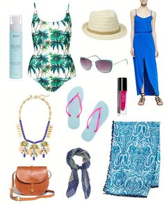 10 essential summer vacation packing tips.  #summervacation #beach #travel #tips #vacation