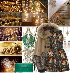 """Leather christmas"" by shaneeeee ❤ liked on Polyvore"