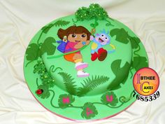 Dora and boot cake | Flickr - Photo Sharing!