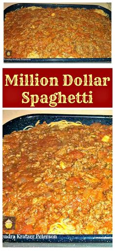 Million Dollar Spaghetti Easy recipe and always a hit with the family!