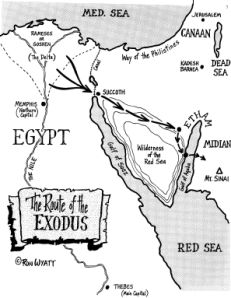 Interesting evidence and archaeological information supporting story of Moses parting the Red Sea - from Consider the Evidence