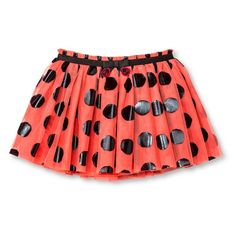 Toddler Girls' Ladybug Girl Tutu Skirt - Red